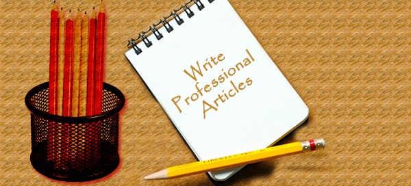 Article writing and submission