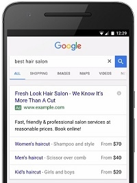 Price Extensions are coming to Adwords Mobile Text Ads